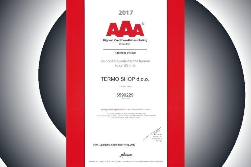 AAA credit rating