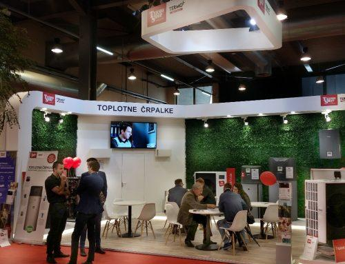 New heat pump models presented at the 50th MOS trade fair in Celje, Slovenia