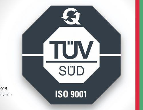 TermoPlus is now accredited to the new ISO 9001:2015 standard