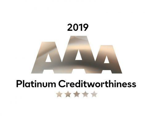 TermoPlus® awarded Platinum AAA credit rating