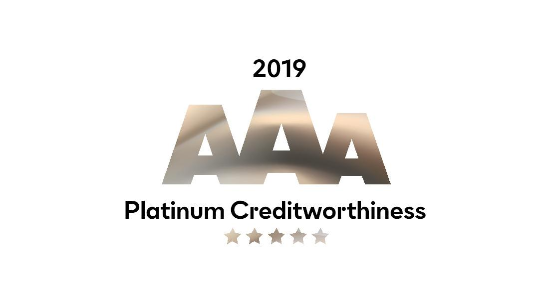 Platinum AAA Credit Rating