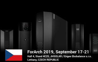 ForArch 2019 Czech Republic