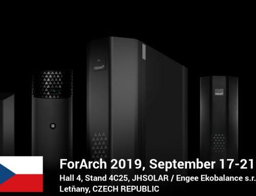 TermoPlus at ForArch 2019 in the Czech Republic (17-21 September, Hall 4, Stand 4C25)!